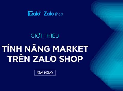 Cách tham gia Zalo Marketplace