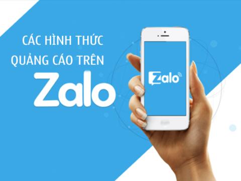 Các hình thức quảng cáo trên Zalo Ads