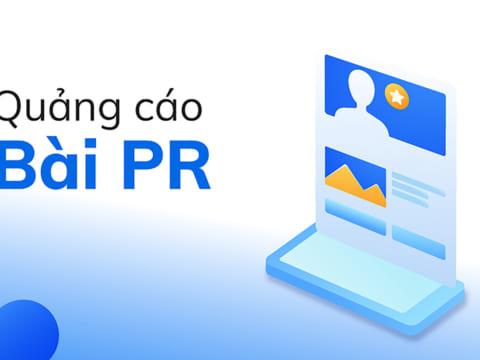 Hướng dẫn tạo quảng cáo bài PR